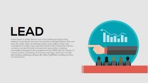 Lead Metaphor PowerPoint Template and Keynote Slide