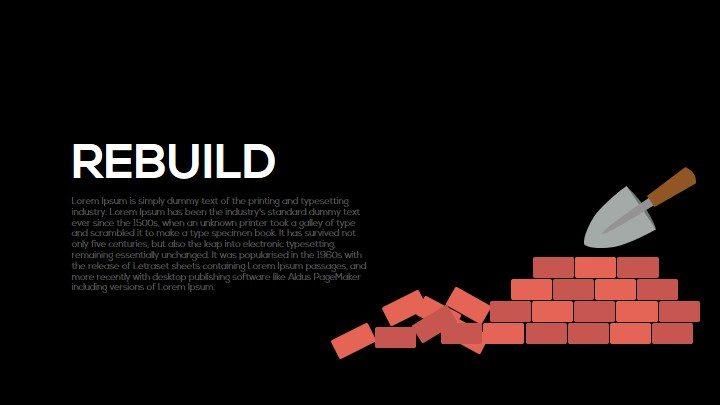 Rebuild Metaphor Powerpoint Template and Keynote