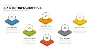 6 Step Infographics PowerPoint Templates and Keynote