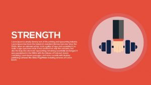Strength PowerPoint Template and Metaphor Keynote Slide