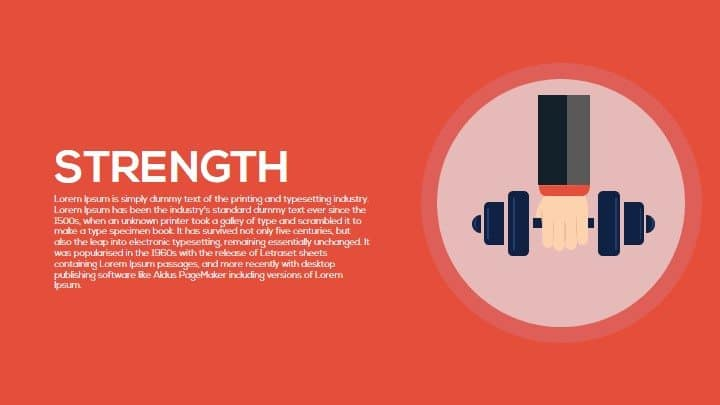 Strength PowerPoint Template and Keynote
