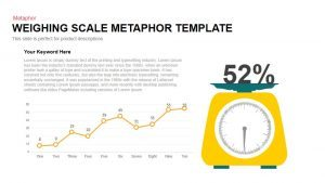 Weighing Scale Metaphor PowerPoint Template & Keynote