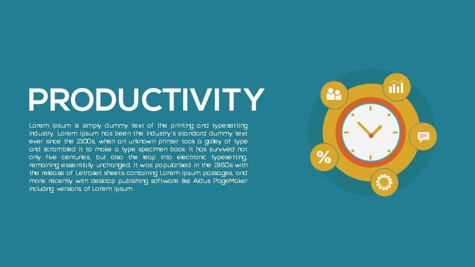 Productivity PowerPoint Template