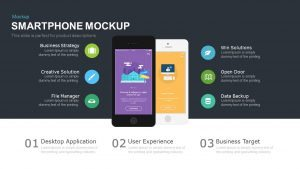 Smartphone Mockup Template for PowerPoint & Keynote