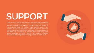Metaphor Support PowerPoint Template and Keynote