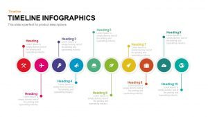 Timeline Infographic PowerPoint Template and Keynote Slide