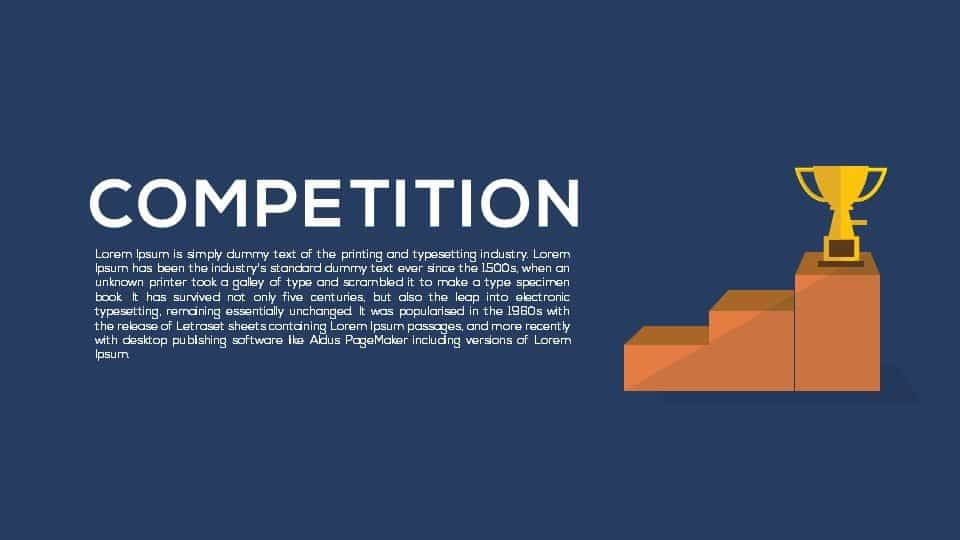 Competition PowerPoint Template and Keynote
