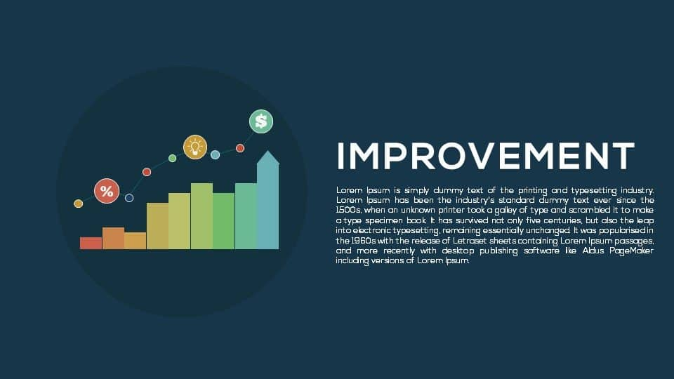 Improvement Metaphor Powerpoint and Keynote template