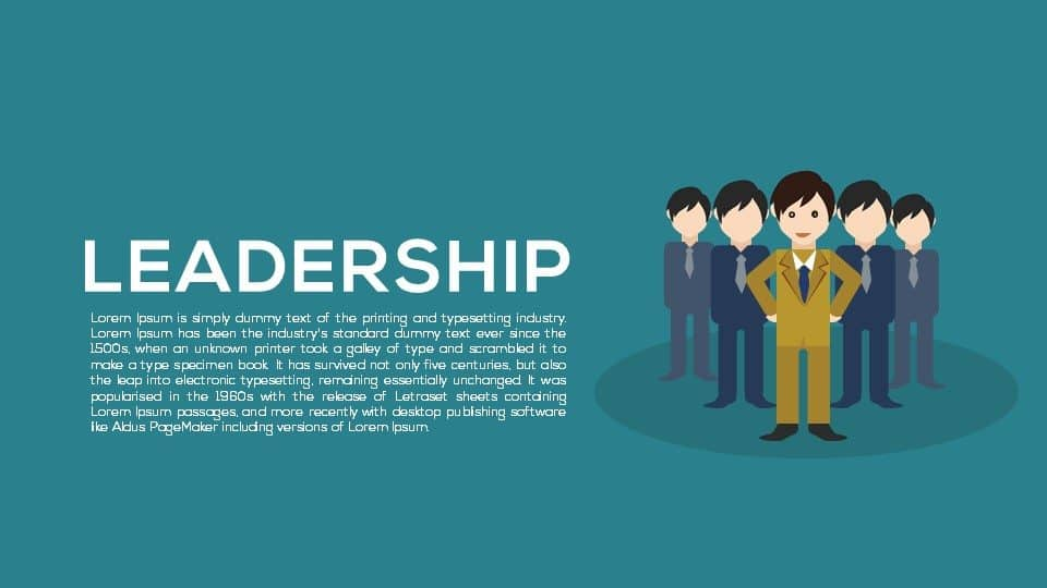 Metaphor Leadership Powerpoint Templates