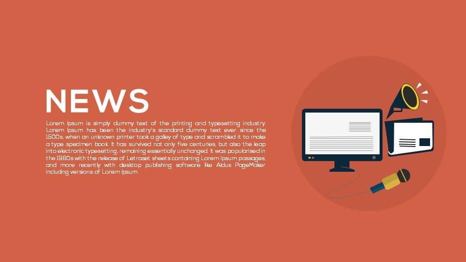 News PowerPoint Template