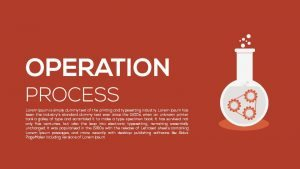 Metaphor Operation Process PowerPoint Template & Keynote