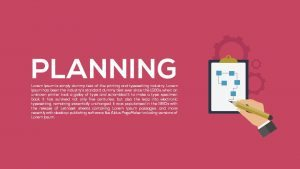 Metaphor Planning PowerPoint Template and Keynote template