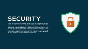 Metaphor Security Template for PowerPoint and Keynote