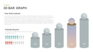 3d Bar Graph PowerPoint Template and Keynote Slide