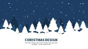Christmas Powerpoint Keynote Background and Theme