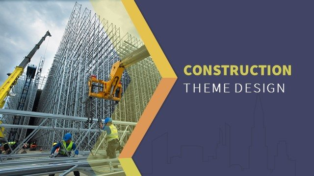 Construction PowerPoint Templates, Backgrounds, and Themes