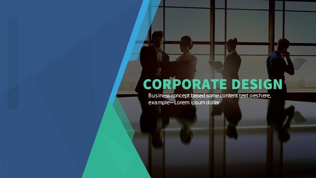 Corporate Powerpoint Keynote Background and Theme