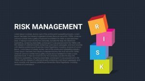 Risk Management PowerPoint Template and Keynote Slide