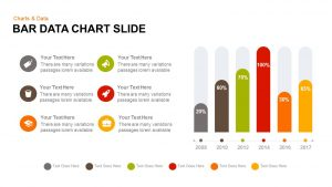 Data Bar Chart Template for PowerPoint and Keynote
