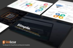 Simple Multipurpose PowerPoint Template and Keynote Free