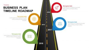 Business Plan Timeline Roadmap Template for PowerPoint and Keynote
