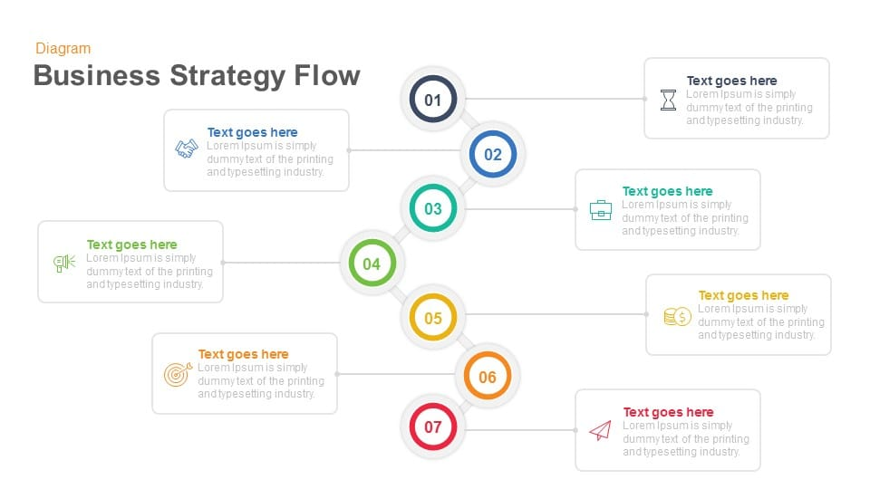 Free business strategy diagram powerpoint slidemodel.