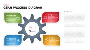 Gear Process Diagram Template for PowerPoint and Keynote