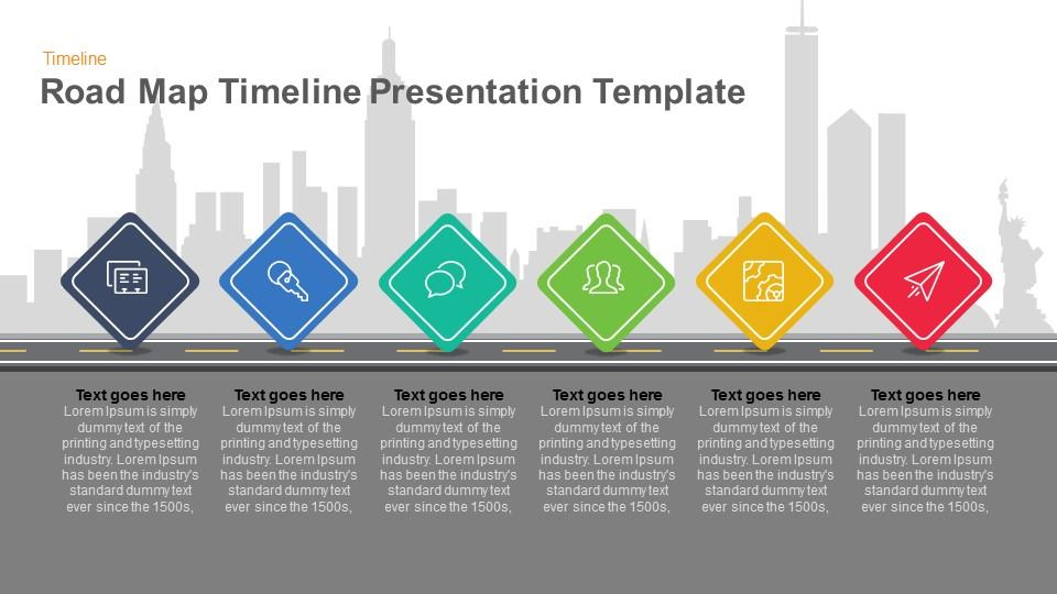 Powerpoint Template Roadmap from slidebazaar.com