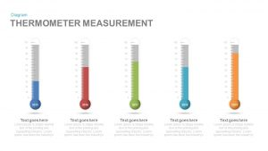 Thermometer Measurement PowerPoint Template and Keynote Slide