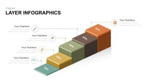 3D Layer Infographic Diagram Free PowerPoint Template and Keynote
