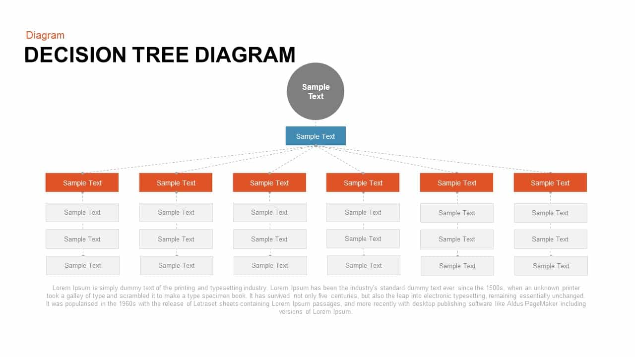 Decision Tree Diagram Keynote template