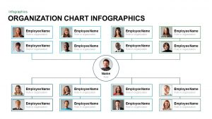 Infographic Organization Chart Template for PowerPoint and Keynote