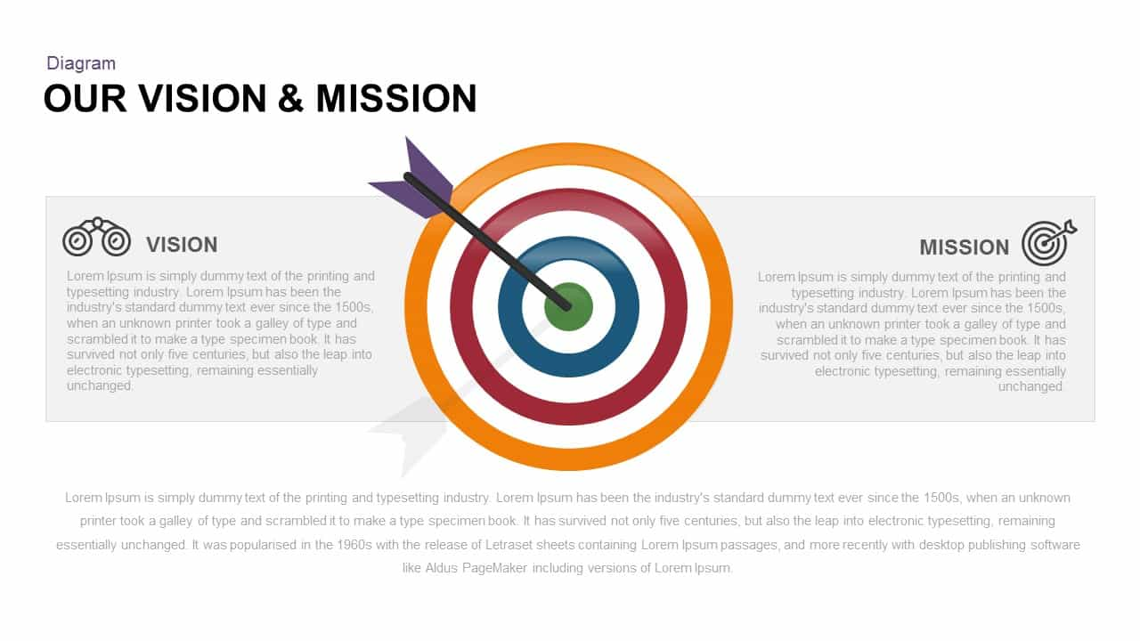 Vision Mission PowerPoint Template and Keynote