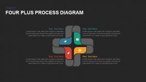 Four Plus Process Diagrams PowerPoint Templates and Keynote
