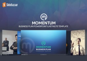 Momentum: Business Plan PowerPoint Template