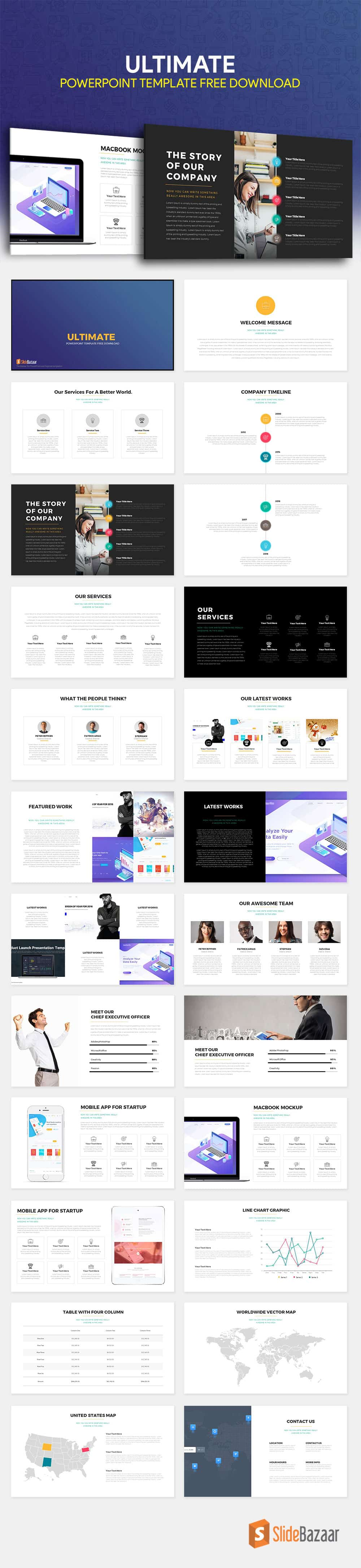 Ultimate PowerPoint Template Free Download