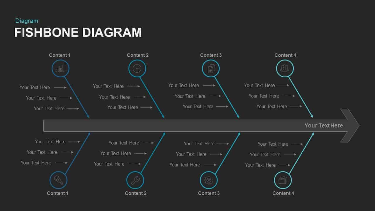 Fishbone Diagram Keynote and PowerPoint