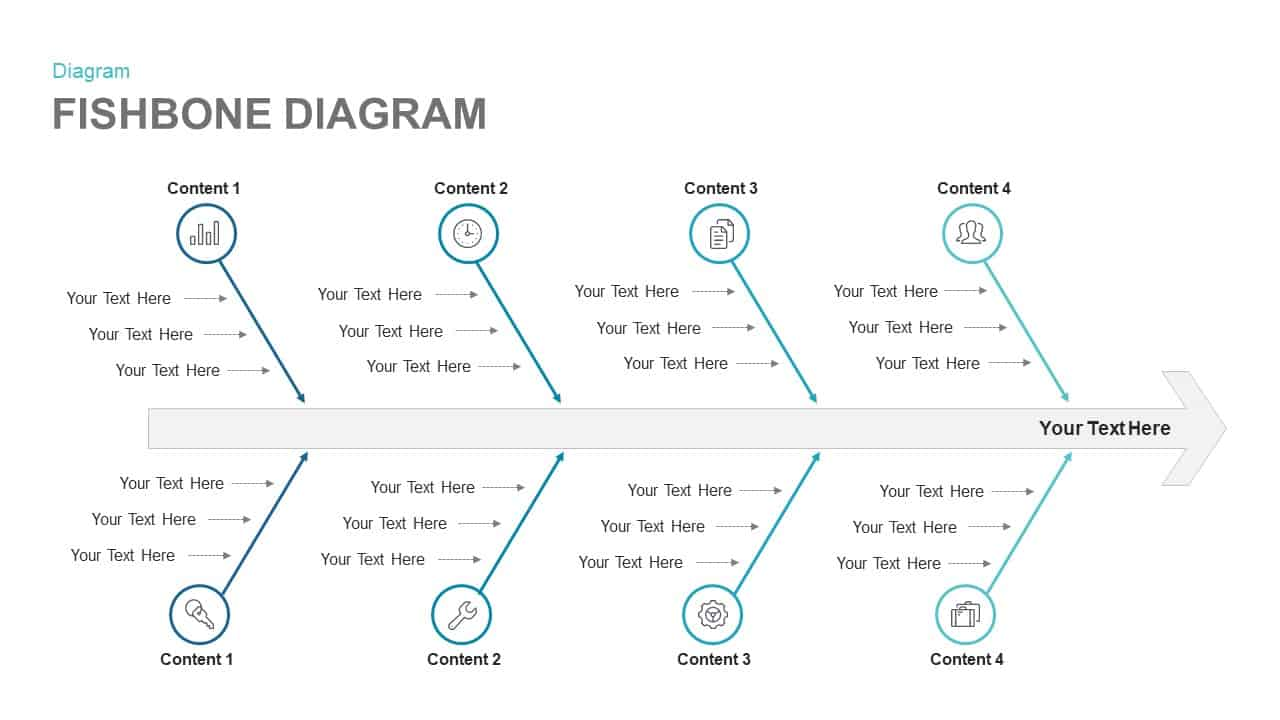 Fishbone Diagram Keynote template