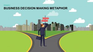 Metaphor Business Decision Making PowerPoint template and Keynote template