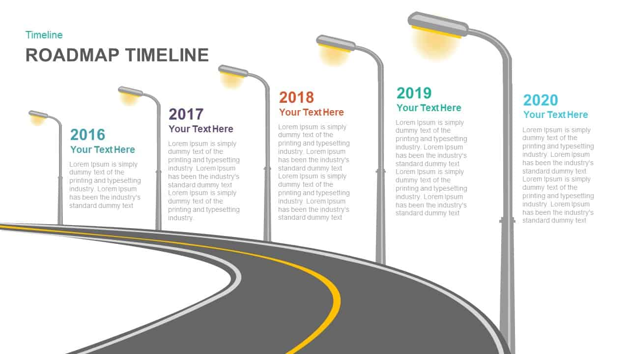 Roadmap Timeline PowerPoint template