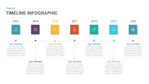 Timeline Infographic Template for PowerPoint and Keynote