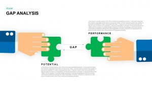 Gap Analysis PowerPoint Template and Keynote Slide