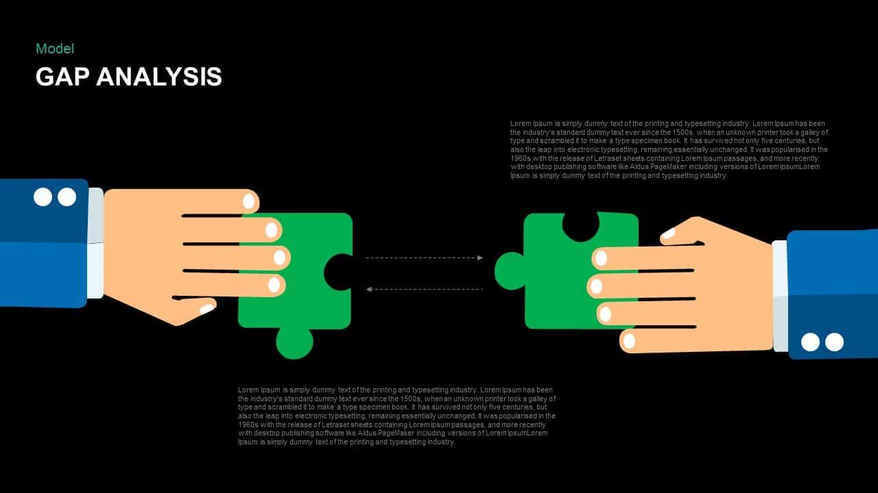 Gap Analysis PowerPoint Template and Keynote Slide