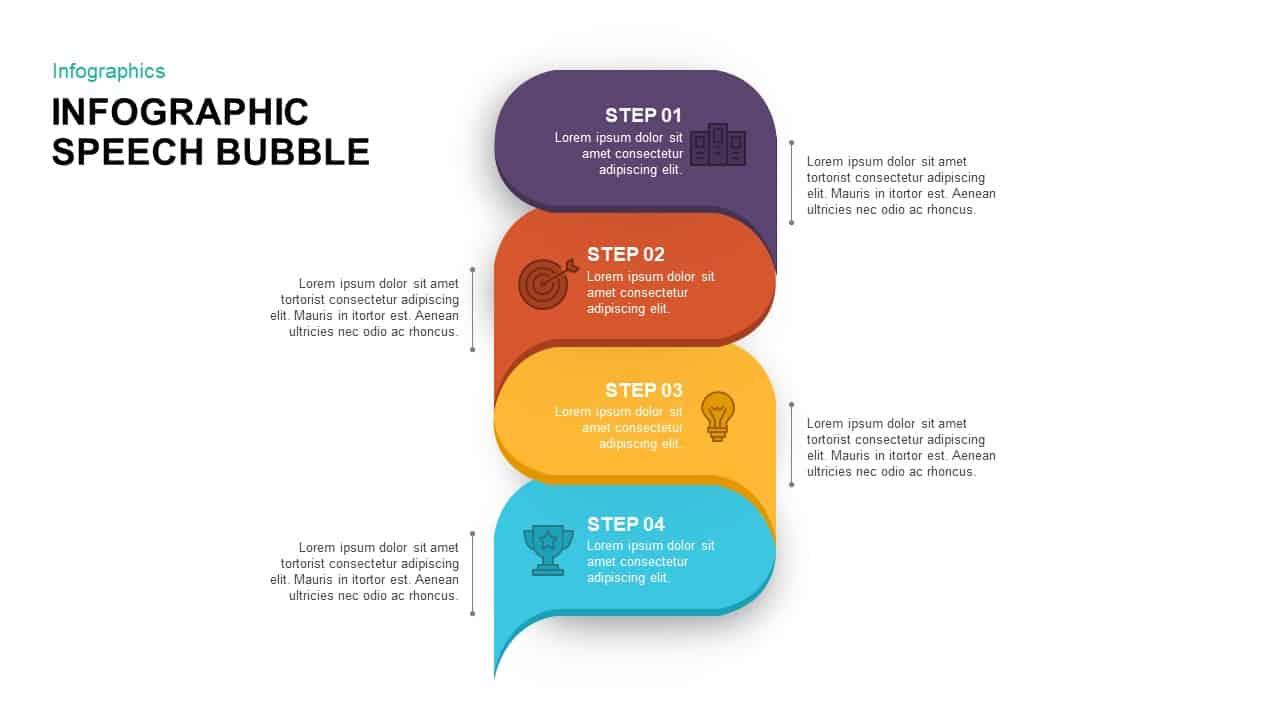 Speech Bubble PowerPoint Template