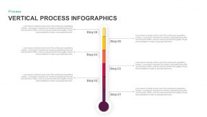 Vertical Process Infographics PowerPoint Templates and Keynote Slides