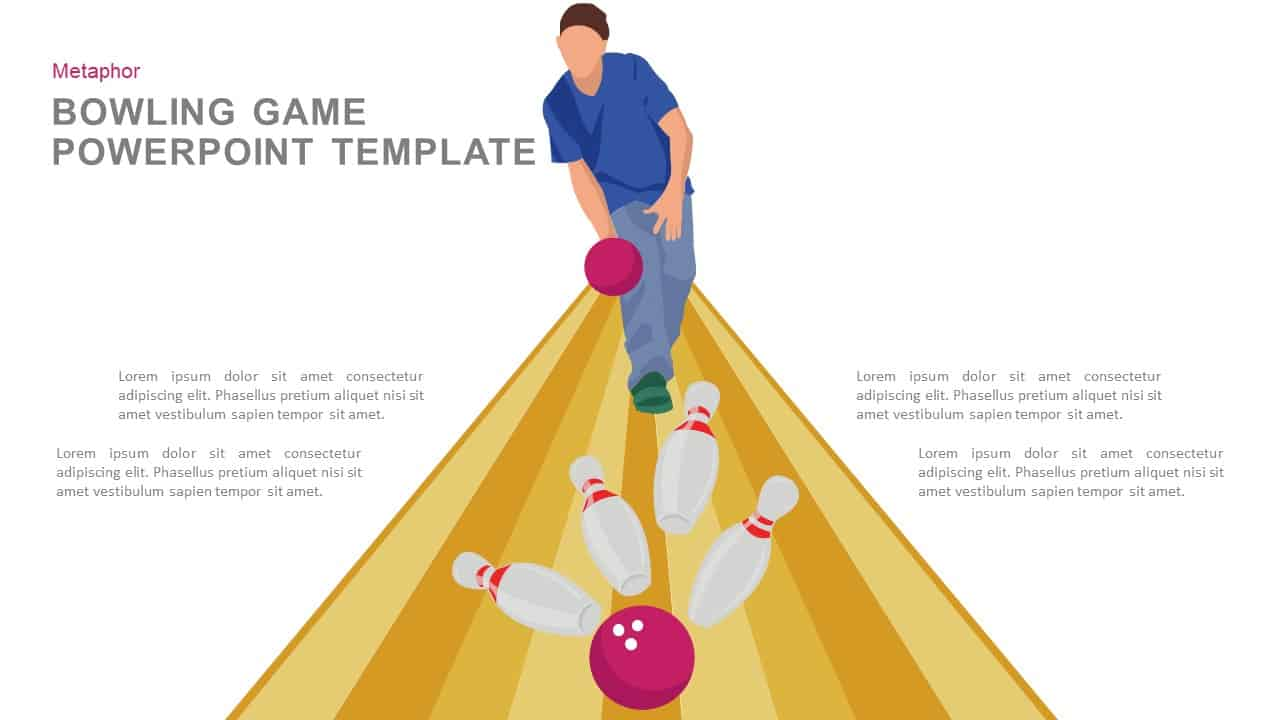 Bowling PowerPoint Template and Keynote
