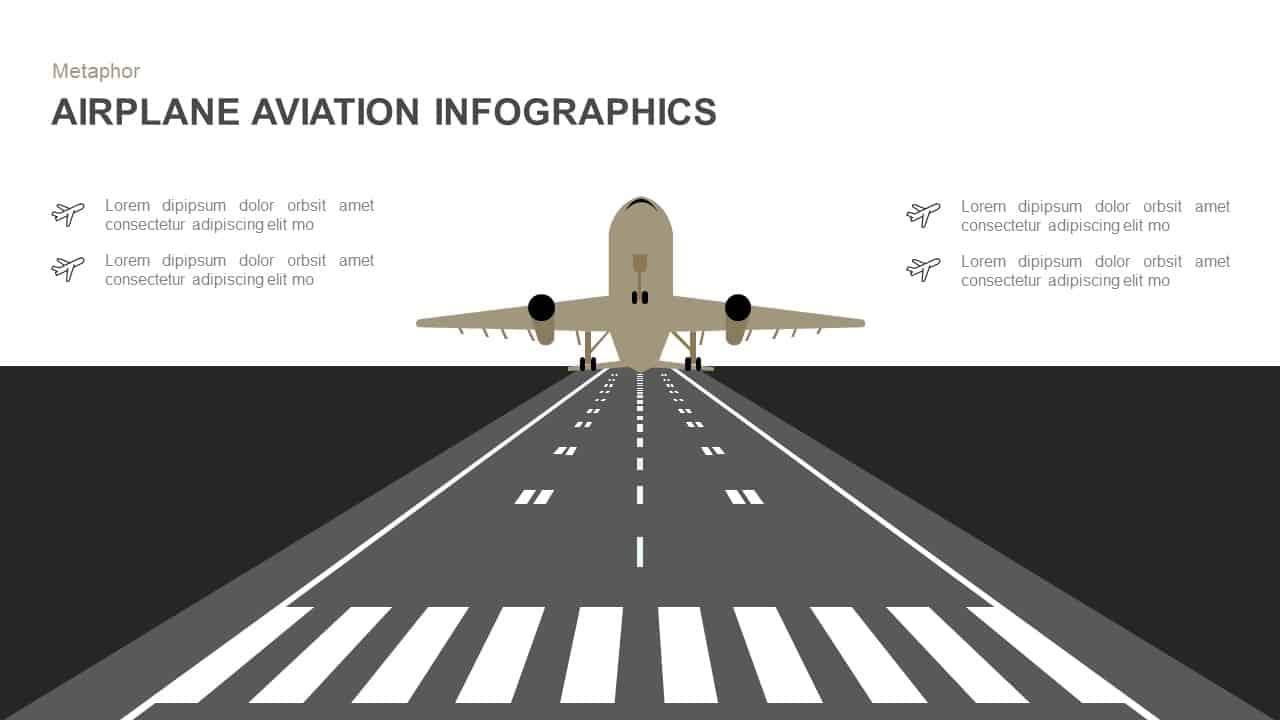 Airplane Aviation Powerpoint Template And Keynote Slidebazaar