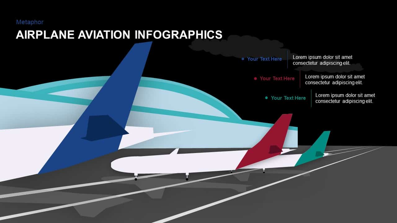 Airplane - Aviation PowerPoint Template and Keynote - Slidebazaar