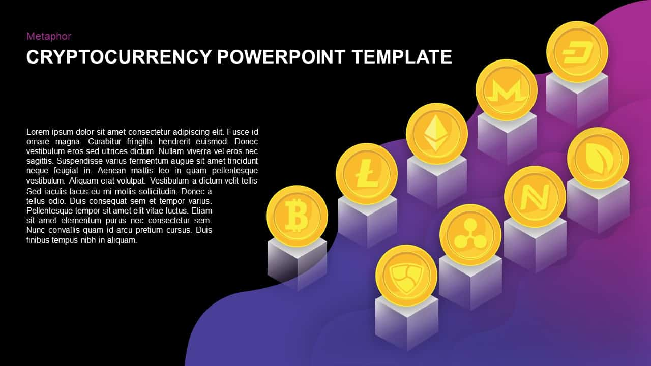 free cryptocurrency powerpoint template