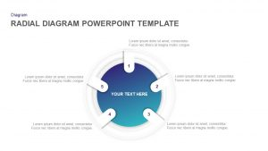 Radial Diagram PowerPoint Template and Keynote Slide